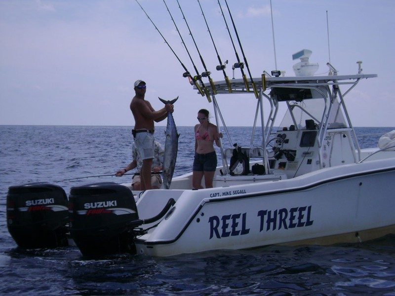 Reel threel charters photo gallery