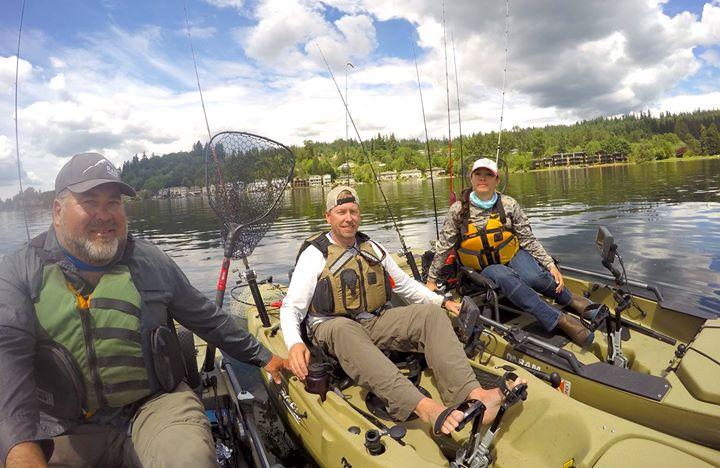 Kayak Fishing Washington photo gallery