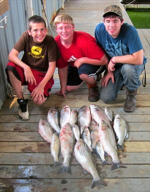 Texoma Striper Fishing photo gallery