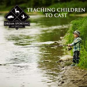 Teaching Children to Cast