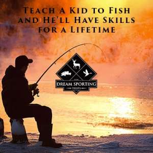 Teach a Kid to Fish and He'll Have Skills for a Lifetime