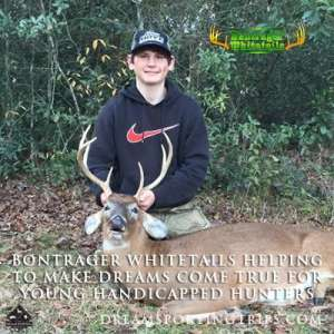Bontrager Whitetails helping to make dreams come true for young handicapped hunters