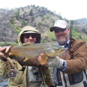 Fly Fishing In Montana for Trout  Image