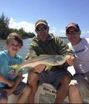Fishing with Captain Lew Morgan, Boca Grande, Florida Image