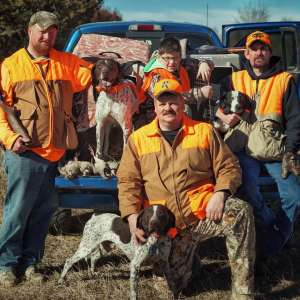 Hunting with Chris Barnhart, Tallgrass Lodge, Kansas